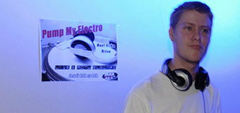 PUMP MY ELECTRO invite VINZCRAFT (Grenoble/FR) on Max FM