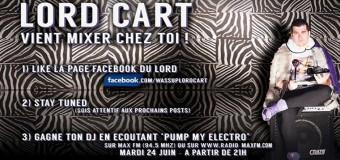 PUMP MY ELECTRO invite LORD CART (Grenoble / FR) & REMY ADRIAENS N'GUYEN-VAN BINH (Grenoble / FR)